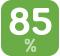 Высокий КПД, до 85%*